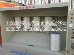 喷粉回收机
